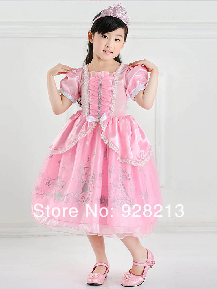 dc7a83fd Retail Mermaid Ariel Princess Children Ball Gown Pink Dress,Halloween  Costume, Performance Clothing, Party Wear, Cosplay Clothes