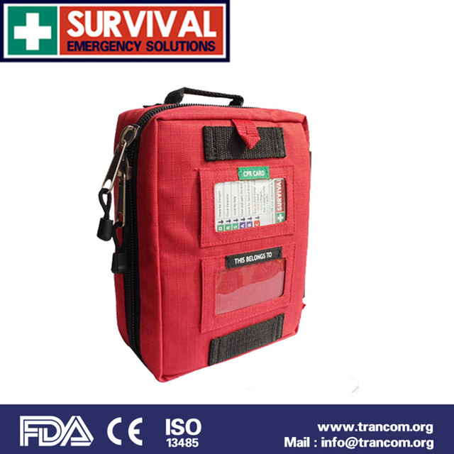 SES02 High Quality Outdoor Travel First Aid Kit with first aid kit contents(CE&ISO&FDA&TGA)Approved