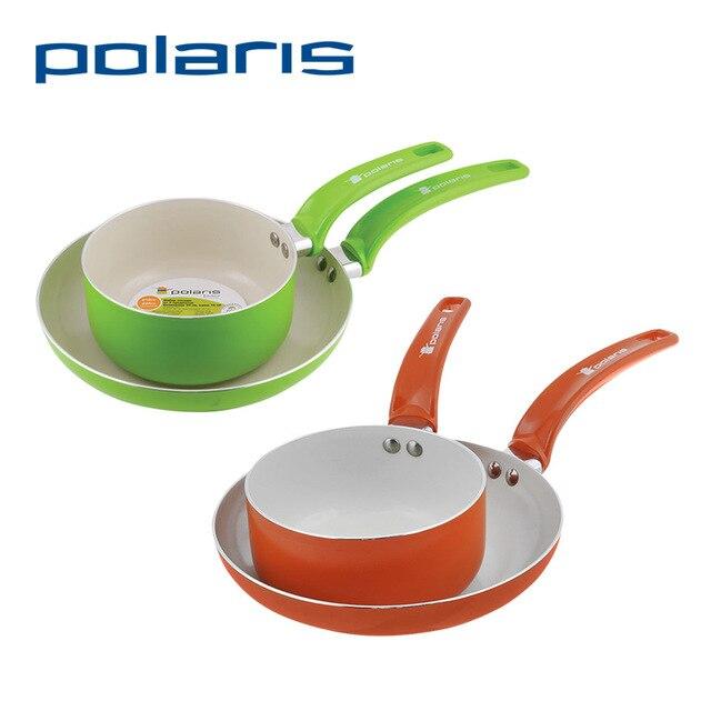 Набор Polaris сковорода Rain-24F и ковш Rain-1624SPF