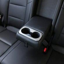 Автомобильный дизайн ABS хром заднего сиденья держатель стакана воды интерьера отделка для LHD Tucson 3th 2016 2017 2018