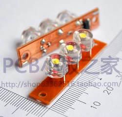 Бесплатная доставка! 5 шт. интегрированы светодиодные панели/LED постоянного тока схема огни/электронных компонентов