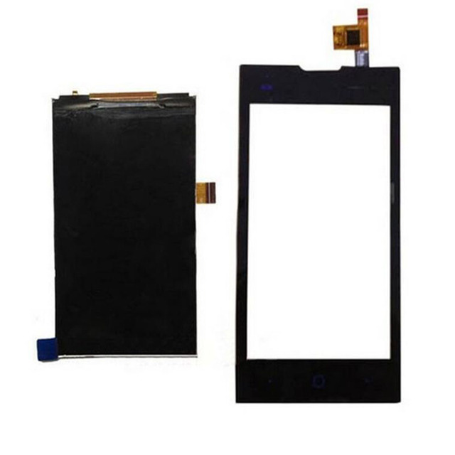 Nova tela preta toque digitador de vidro sensor + display lcd tela do painel de 4.0 ''para zte kis 2 max v815w v815 substituição assembleia