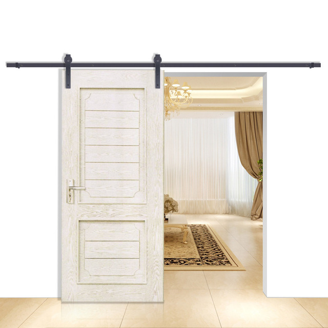 6.6FT Sliding Barn Door Hardware European Style Room Heavy Duty GOOD PRESTIGE  sc 1 st  AliExpress.com & 6.6FT Sliding Barn Door Hardware European Style Room Heavy Duty ...