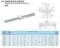 бесплатная доставка для 2 шт. sbr25 700 мм линейный вал рельсы поддерживает 4 шт. sbr25uu линейных