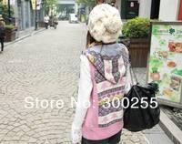 бесплатная доставка шапки большой крест хвоствик вязаная шапка мода шапки женская зимняя шапка с kintted мяч