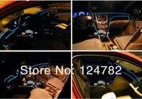 1 компл. стиль Калифорния 5 м 12 в атмосфера автомобиля декоративные лампы \ El с салона полосы света холодной лампы с водителем