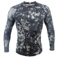 Kryptek Typhon de compresión T-shirt Ejército Táctico de manga Larga camisa Transpirable