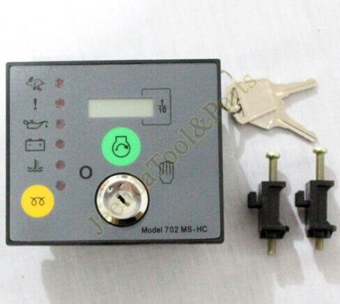 Modulo di controllo del controller elettronico dse702ms parti generatore gensetModulo di controllo del controller elettronico dse702ms parti generatore genset