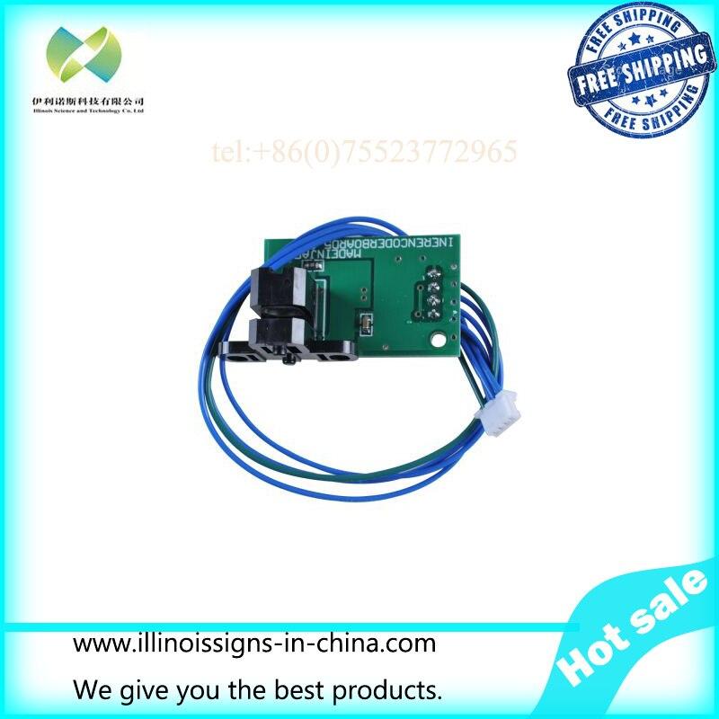 Roland RS-540 / RS-640 / VP-540 / VP-300 / SP-540I / SP-300I Linear Encoder Sensor - 6700989040   printer parts feed motor board for roland rs 640
