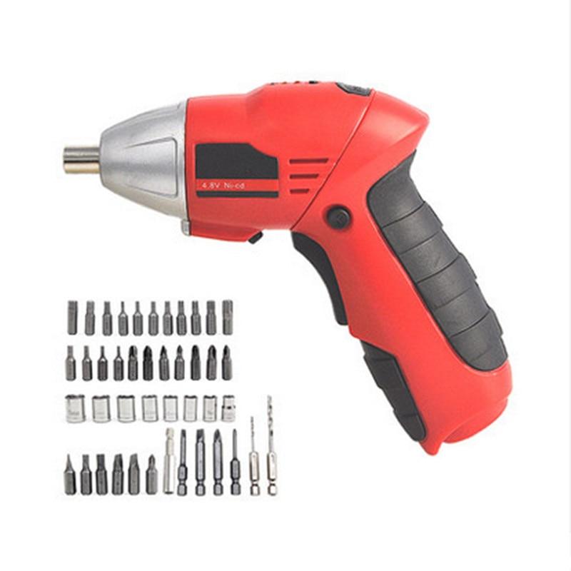 Destornillador inalámbrico multifunción Mini taladro Destornillador eléctrico recargable Herramientas eléctricas destornillador electrico