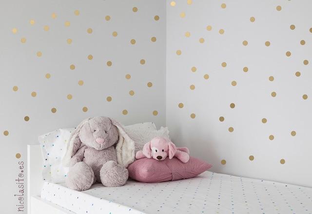 Wall decals polka dots