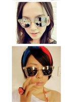 100% ультрафиолетовый материал прозрачный рама ртути отражатель очки солнечные очки ЗП-037