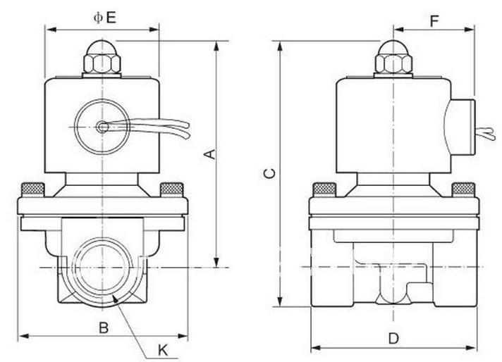 1-1/2 ''1,5'' Электрический электромагнитный клапан из нержавеющей стали Модель 2S400-40 Для водяной воздушный масляный КОРРОЗИОННЫЙ корпус SS, 12 v 24 v 220 v