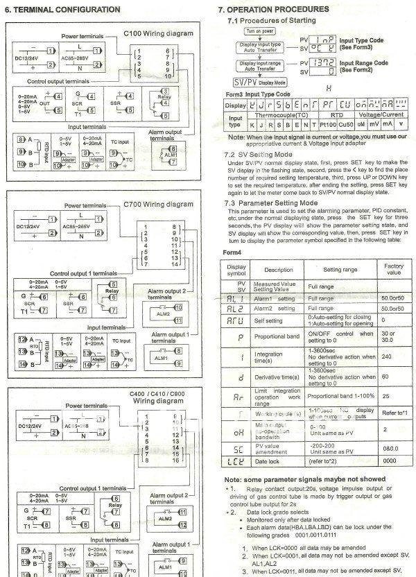 Digital PID Temperature controller REX C100FK02 V*AN+ max40A SSR +