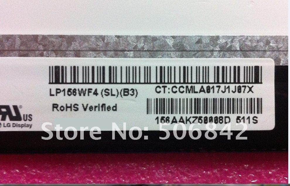 "Фирменная Новинка LP156WF4(SL)(B3) LP156WF4 SL B3 15,"" Ноутбук ips ЖК-дисплей экран Класс A+ 1920*1080(1 год гарантии), производство Китай"