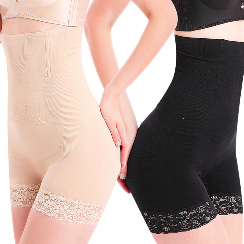 ZUIMIMI High Waist Body hot Shaper Underwear Slimming shapewear Control Knickers Panties,sexy lace Seamless Boyshort Lady Corset
