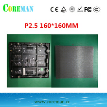 64*64 punkte p 2,5 led panel 160x160 led display modul p2 led schrank p2 advertisting bühne led display screen modul