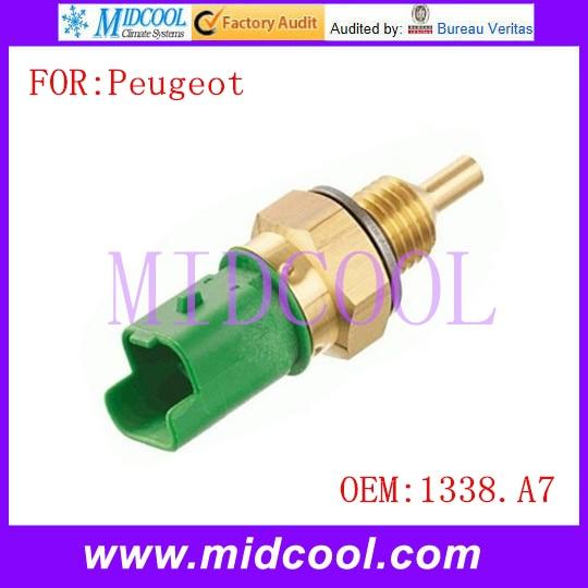 Sensor de temperatura del agua del refrigerante del motor 1338A7