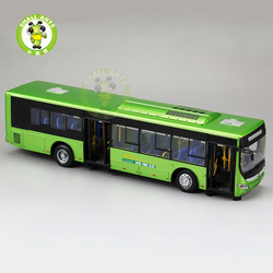1/42 Scale Bus Model China YuTong E12 Electric City Bus Diecast Metal Model Car Bus Toys Gifts