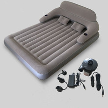 Inflatable Folding Bed Waterproof Mattress Double Bed With Backrest Bedroom Furniture Mueble De Dormitorio Camas Free