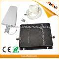 70dB de Ganancia GSM 850 2100 Amplificador de la Señal Del Teléfono Móvil Celular Booster CDMA, WCDMA, Repetidor de Doble Banda 2g 3g 850 2100 mhz