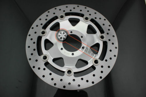 AD Front Brake Disc Rotor For Honda Goldwing 1800 GL1800 2001-2013 NISHISHUI