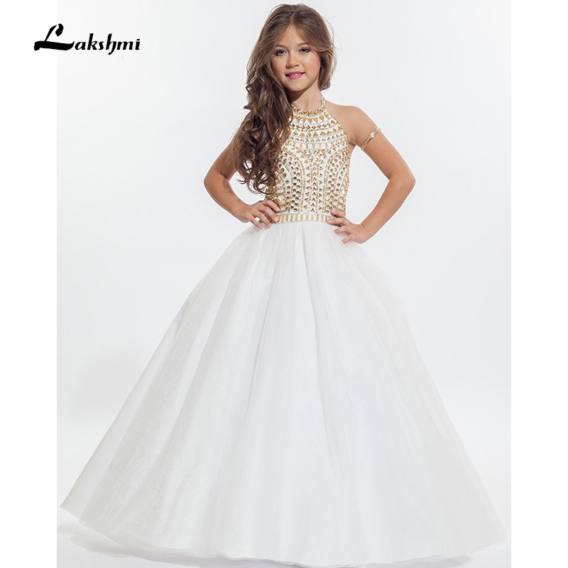 Online Buy Wholesale gold flower girl dresses from China gold ...