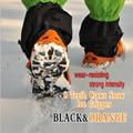2016 Anti Slip Chuteiras Ice Aço Inoxidável Cadeia de 8 Dentes Crampon Spikes Apertos Sapato Caminhante Ao Ar Livre Esqui Caminhadas Crampons A0038