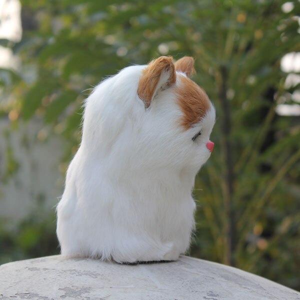 Newly handmade font b animal b font cute simualtion cats