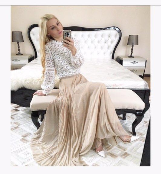 Шикарная блуза в стиле в стиле известного бренда Self Portrait