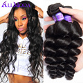 Malaysian Virgin Hair Malaysian Loose Wave Ali Moda Hair 7A Unprocessed Virgin Hair Weave Cheap Malaysian Loose Wave Human Hair