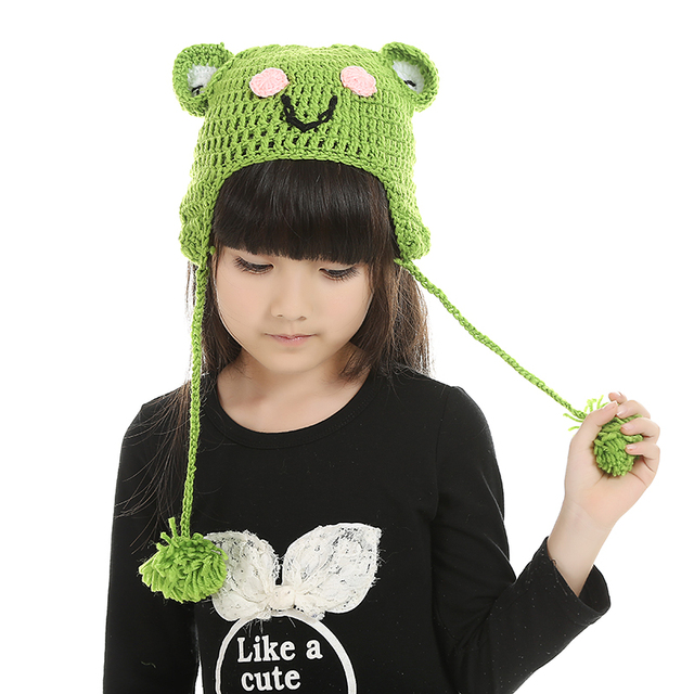 on sale hat promotion cute cartoon cheap monkey knitting halloween costume christmas newborn baby girl boy