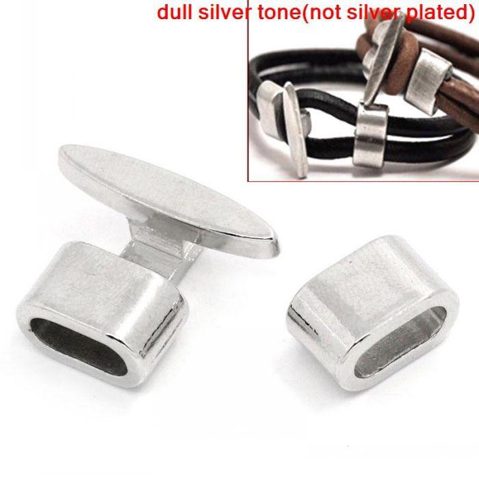 doreenbeads-bracelet-end-bar-clasps-with-slider-for-leather-bracelet-t-shape-silver-tone-23x18mm-135