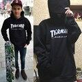 Homens Maré Hop skate Streetwear jumper Trasher Agasalho Capuz Skate Dos Homens e Mulher chama thrasher moletom Tamanho S-4XL