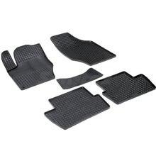 Для Citroen C4 SEDAN 2011-2019 резиновые коврики с рисунком Сетка Seintex 00746