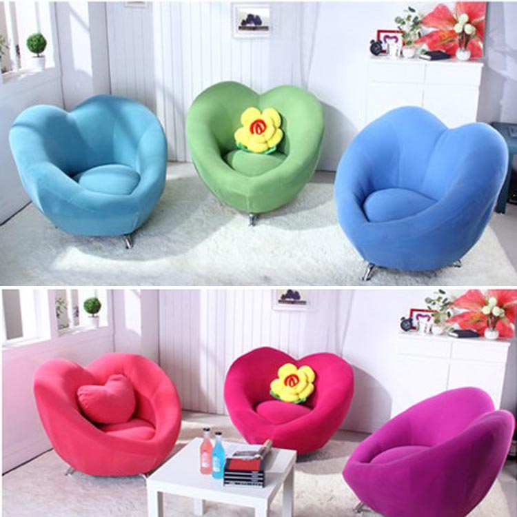 SOLO HighqualityLove Shape Lazy Sofa Children Chair Exquisite Couch  Countryside Computer Stool Bedroom Furniture Kids Sofa Bed In Living Room  Sofas From ...