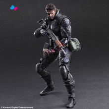 Kissen New Version  Metal Gear Solid V The Phantom Play Arts Kai Venom Snake Action Figure Collectible Model Toys 27cm