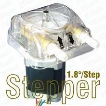 1100 мл/мин., 24Vdc 1.8D/шаг Stepping перистальтический насос со сменными Перистальтический напор насоса и утвержденными FDA PharMed BPT трубки