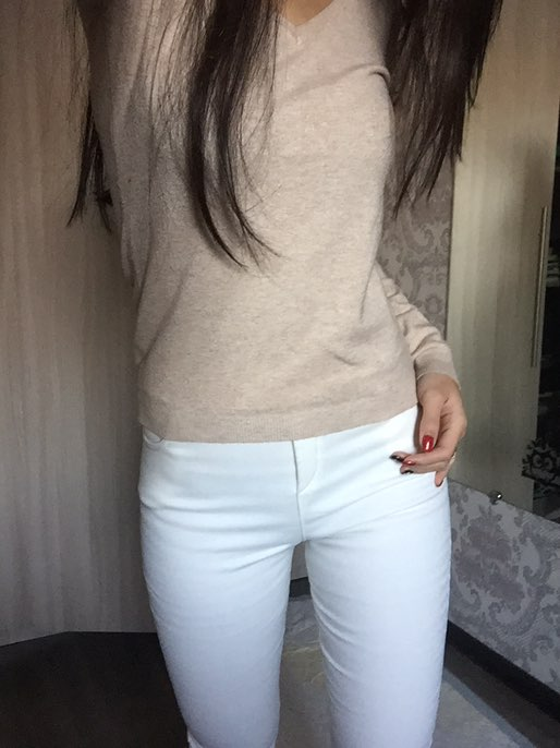 Пост об утепленных белых штанишках