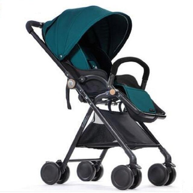 Spiritkids carro guarda-chuva ultra-luz portátil dobrável carrinho de bebê de carro do bebê