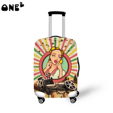 ONE2 new design fashion style high elasticity spandex 22,24,26 inch protective luggage cover good quality