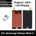 100% Original Black LCD for Samsung Galaxy Note4 N910C N910F SM-N910 N910X Screen for Note 4 IV Digitizer Assembly Replacement