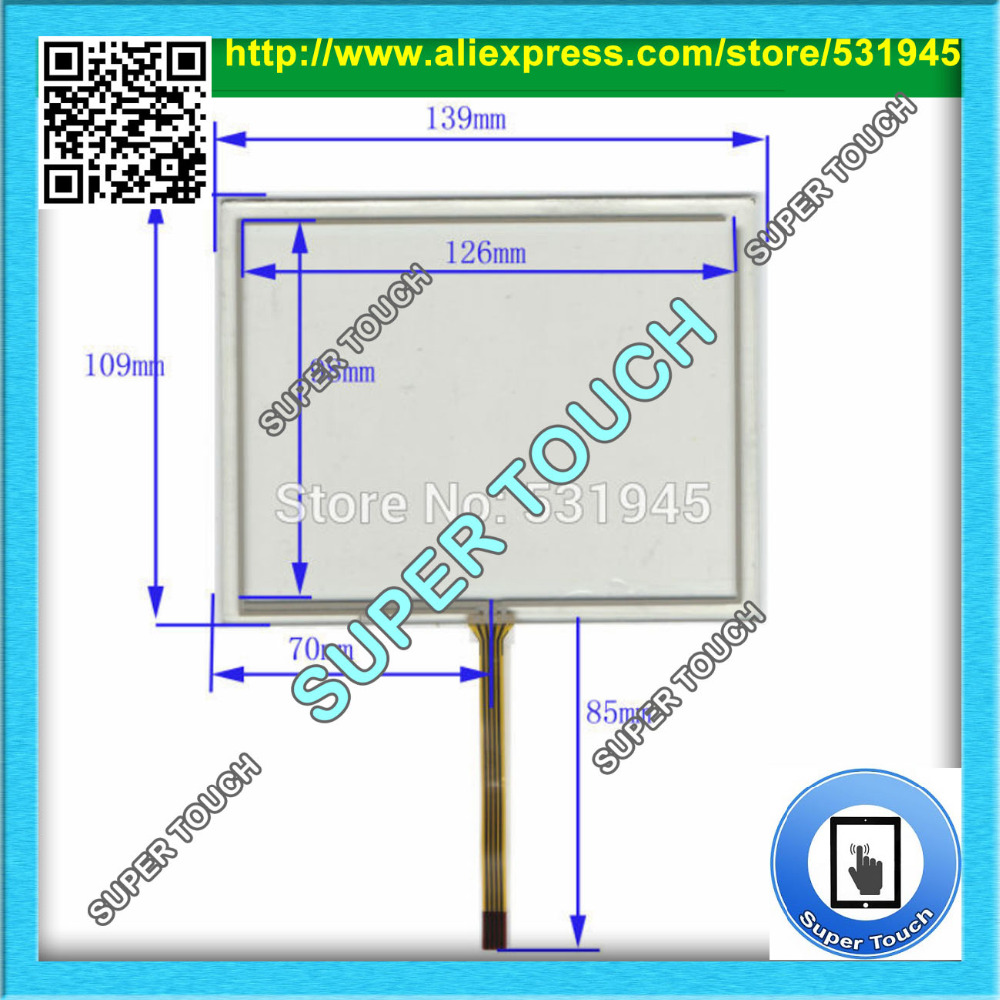 ZhiYuSun Anti-Static Shelding Bag New 5.7 Inch Touch Screen 139mm*109mm for 5.7 GPS GLASS 139*109 compatible commercial use zhiyusun new touch screen 364mm 216mm 15 6inch glass 364 216 for table and computer commercial use