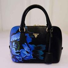 Mode Frauen Pu-leder Handtasche Taschen Schulter Umhängetasche Große Tote druckmuster Reißverschluss Damen Handtaschen Mode-design