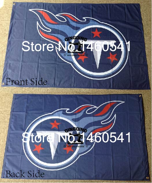 Tennessee Titans Flag 3ft X 5ft Polyester Nfl Tennessee