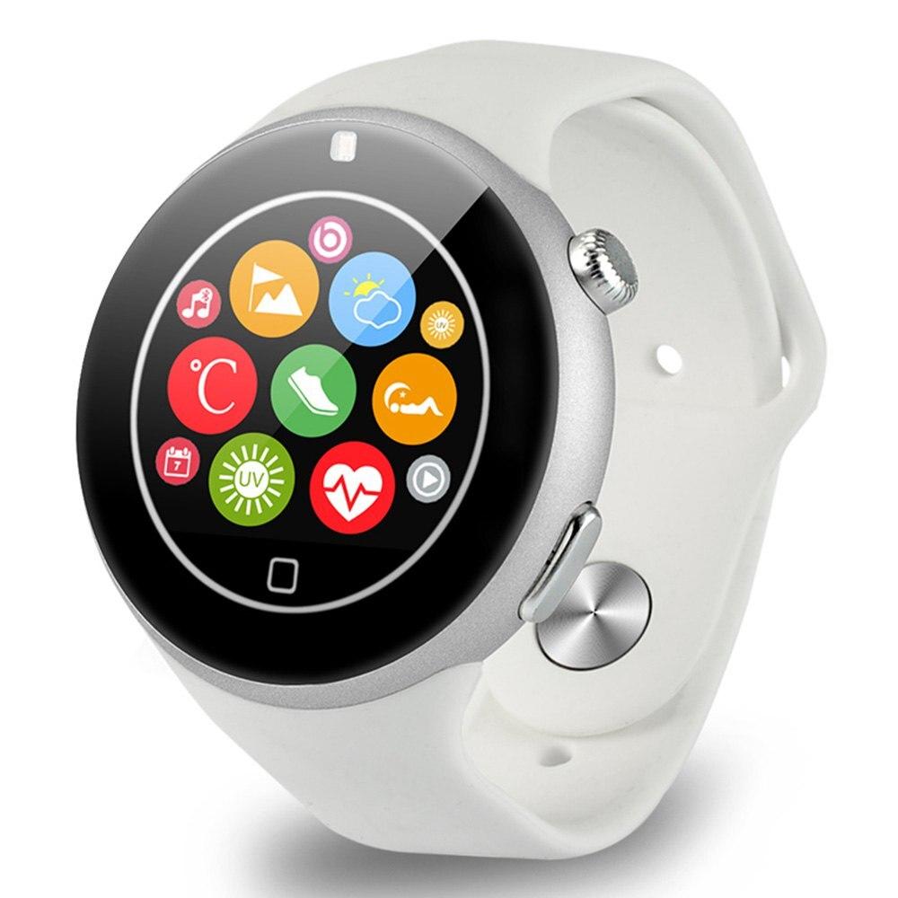 "imágenes para Aiwatch c5 bluetooth smart watch llamada de teléfono 2g sim 1.22 ""64 MB + 128 MB Barómetro Podómetro Sleep Monitor de Ritmo Cardíaco para IOS Android"