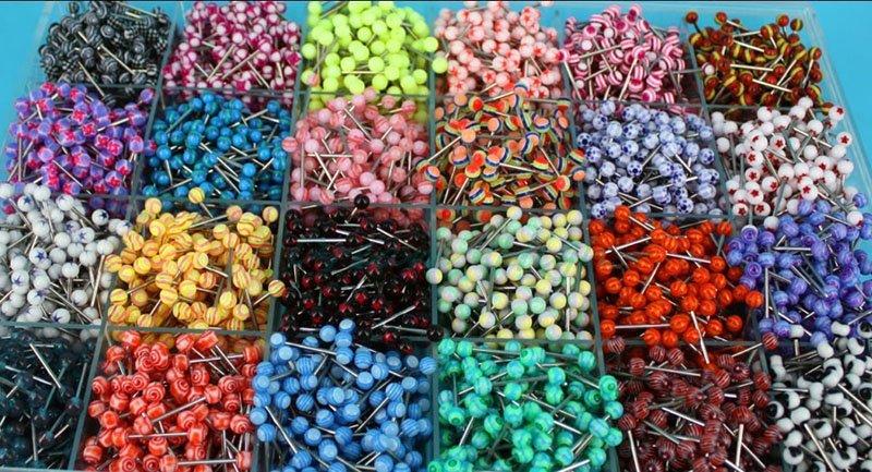 Горячая Распродажа, серьги в виде зеленого листа, серьги-гвоздики, кольцо для ушей, модные украшения для тела, пирсинг для ушей, 144 шт./лот