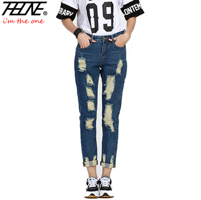 Womens long trouser jeans