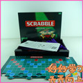 Original Scrabble Board game English\Russian\Korean Instructions crossword Spelling game