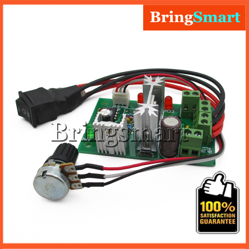 Hot 6v Pwm 12v Dc Motor Speed Control 24v 30 Volt 6a Pulse